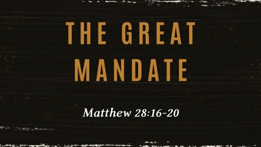The Great Mandate