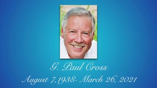 Memorial for Paul Cross