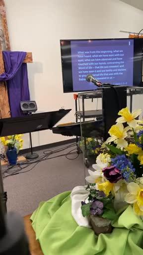 Cindy White Schenewerk was live in Winston Community Baptist Church.