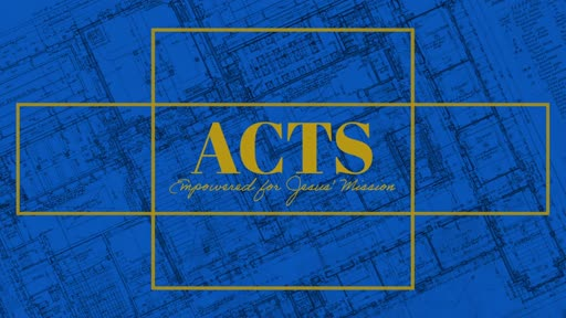 Acts: Empowered To Endure Suffering!