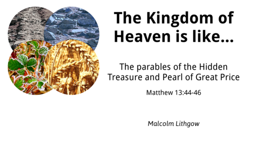 The Kingdom of Heaven is like this