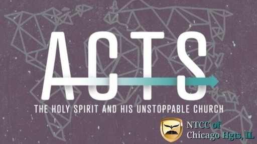 Bible Study - Acts Part 1 2021.04.20