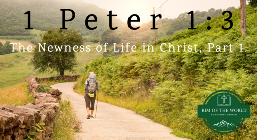 1 Peter 1:3 | The Newness of Life in Christ (Part 1)