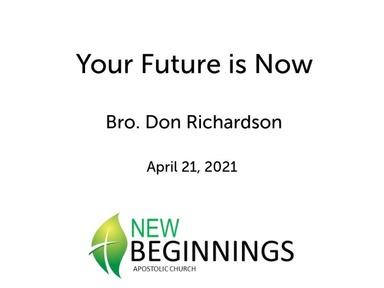 New Beginnings  April '21 Revival
