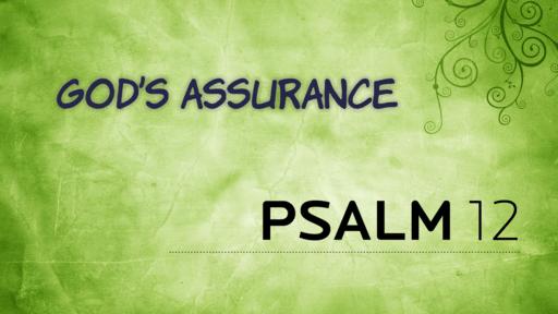 God's Assurance