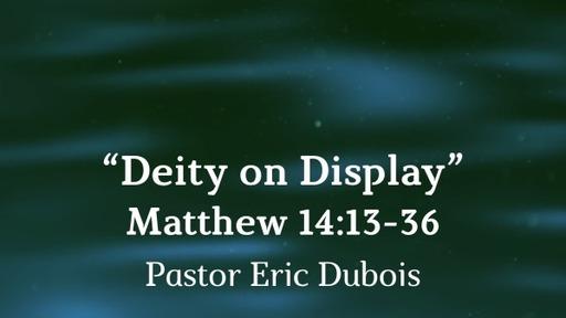 Deity on Display, Matthew 14:13-36