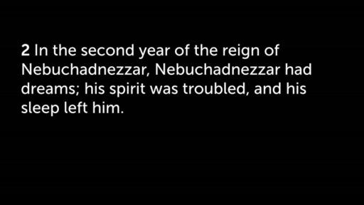 Daniel 2:29-49