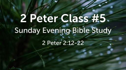 2 Peter Class #5
