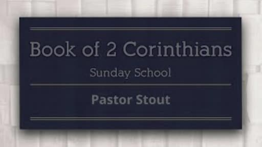 Sunday School - 2 Corinthians 5:18-19