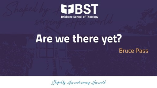 BST Chapel Tuesday 27th April 2021