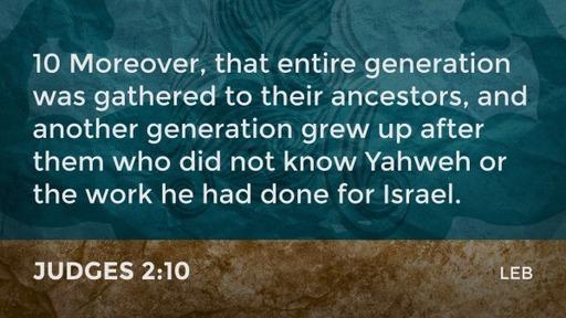 Introduction to Old Testament Studies: Deuteronomic History - Judges Part 22