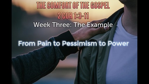 The Example: From Pain to Pessimism to Power (April 25th 2021)
