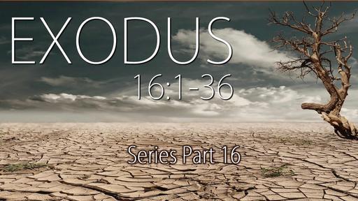 Exodus Part Sixteen, Exodus 16:1-36, Sunday April 25, 2021