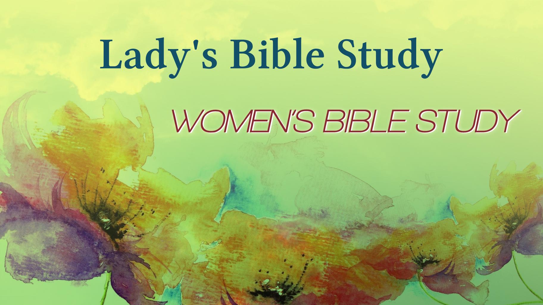 Lady's Bible Study