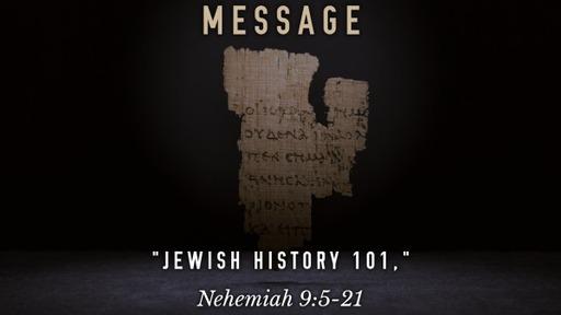 """Jewish History 101"""