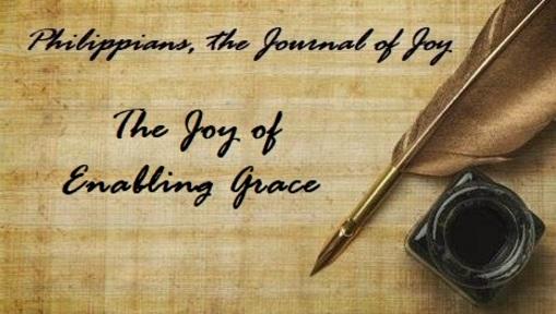 The Joy of Enabling Grace
