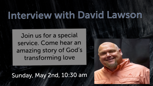Interview with David Lawon