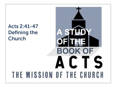 Defining The Church