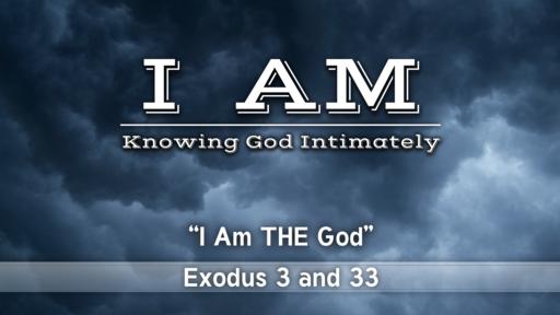 I AM Knowing God Intimately