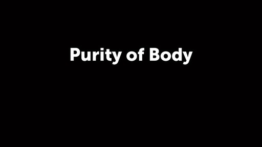 Purity of Body