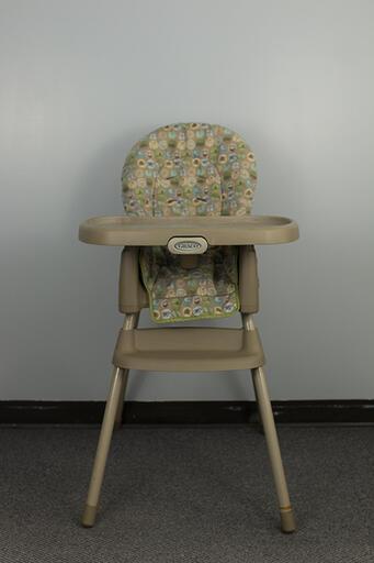 Tan High Chair