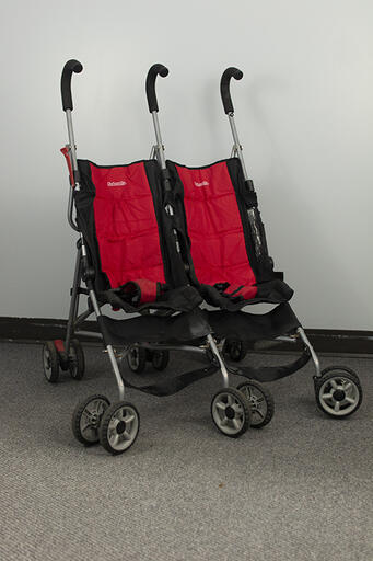 Double Stroller - Red
