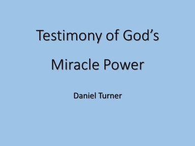 God's Miracle Power