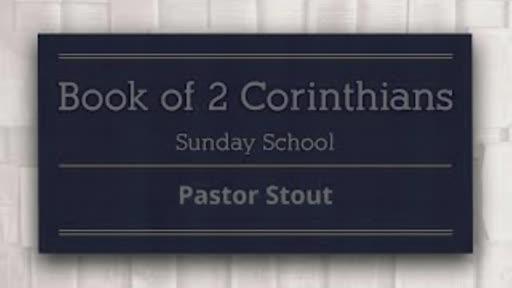 Sunday School - 2 Corinthians 5:20