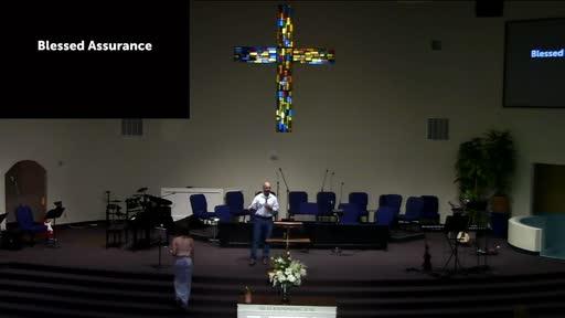 Dr. Ben Karner; Blessed Assurance; 1 John 3:19-20
