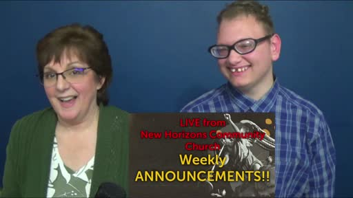 5-13-21  Weekly Announcements LIVE From NHCC