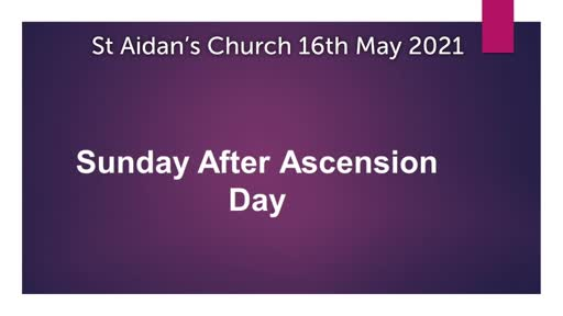 Sunday 16 May