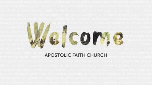 Apostolic Faith Church Van Buren