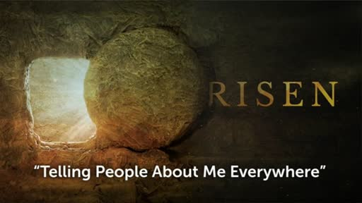 Risen : Telling people about me everywhere