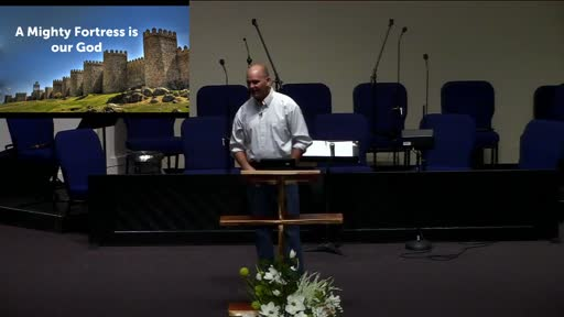 A Mighty Fortress is our God; Dr. Ben Karner