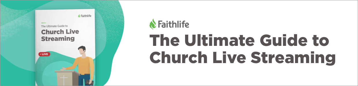 The Ultimate Guide to Church Live Streaming ad