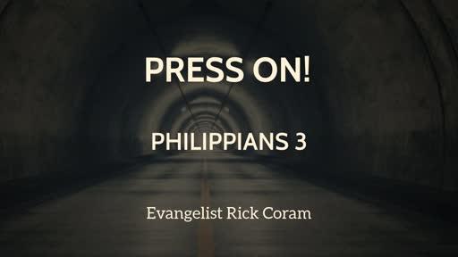 Press On - Philippians 3