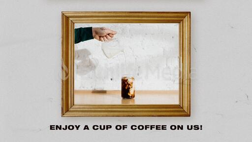 Enjoy a Cup of Coffee On Us!
