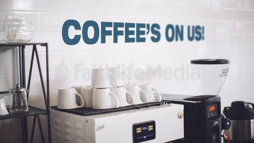 Coffee's On Us!