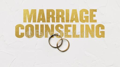Marriage Counseling Rings