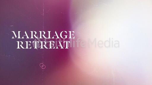 Church Name Marriage Retreat White