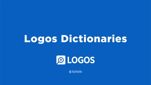 Logos Dictionaries