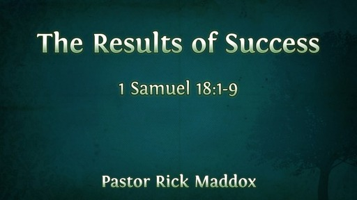 The Results of Success