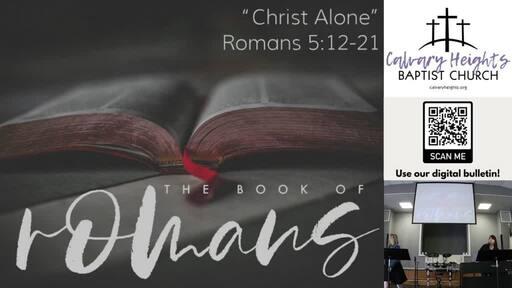 """Christ Alone"""