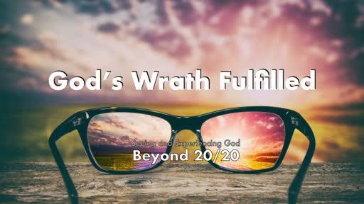 God's Wrath Fulfilled