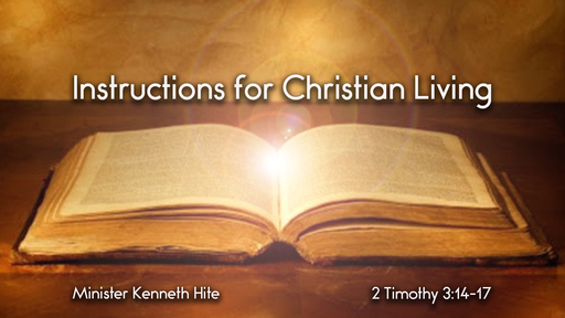 Instructions for Christian Living