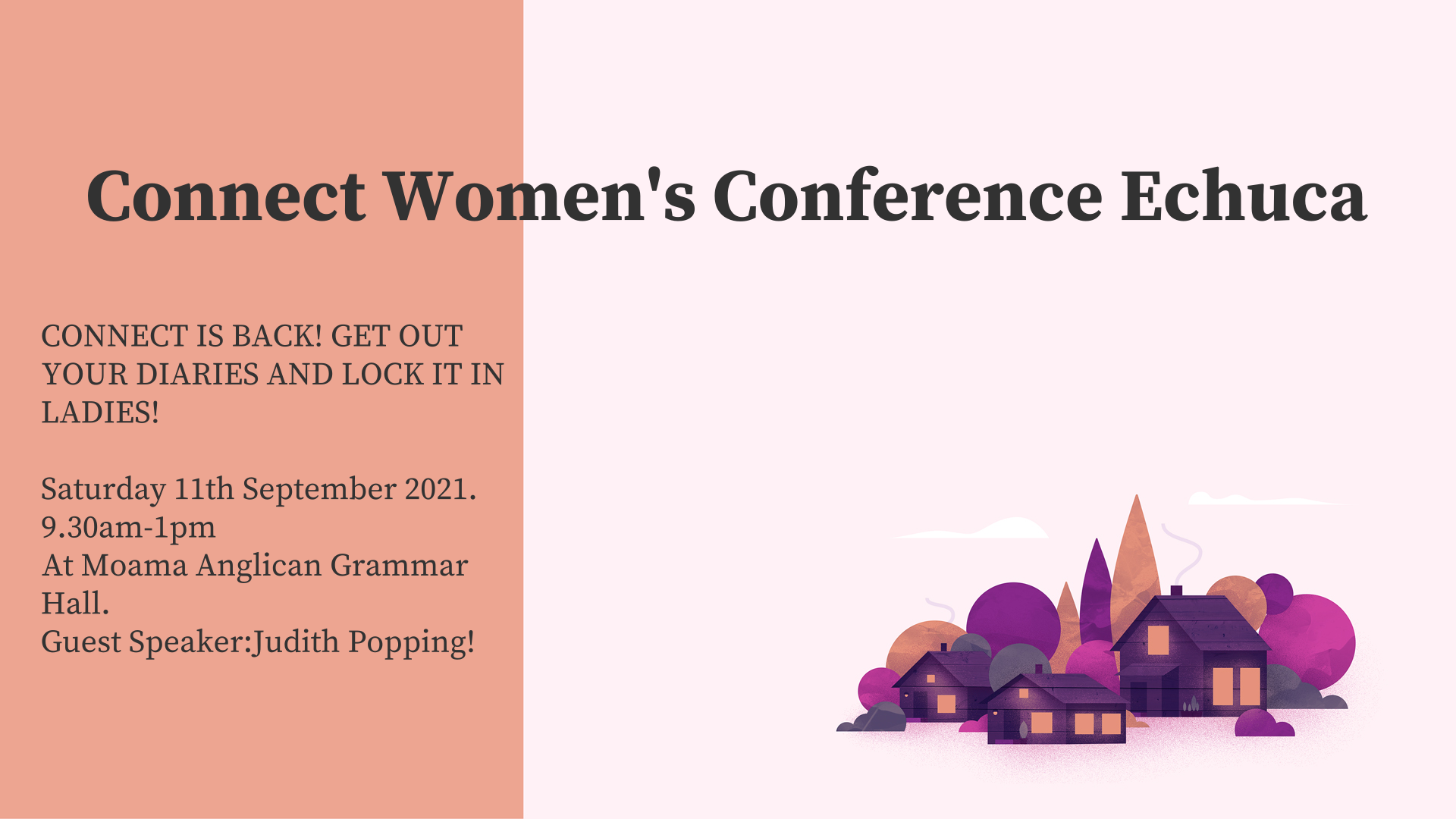 Connect Women's Conference Echuca
