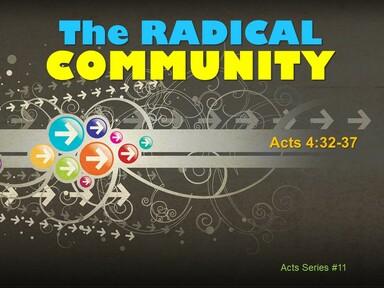 2021-05-23  THE RADICAL COMMUNITY