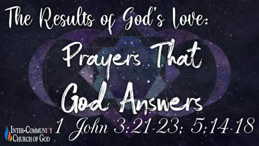 Prayers That God Answers