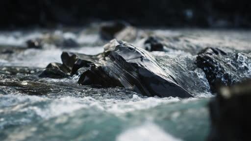 Mountain River Flowing In Carpathians-247KHPS