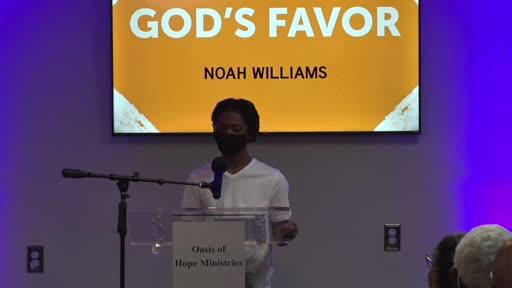 May 29, 2021 | VIPs | God's Favor